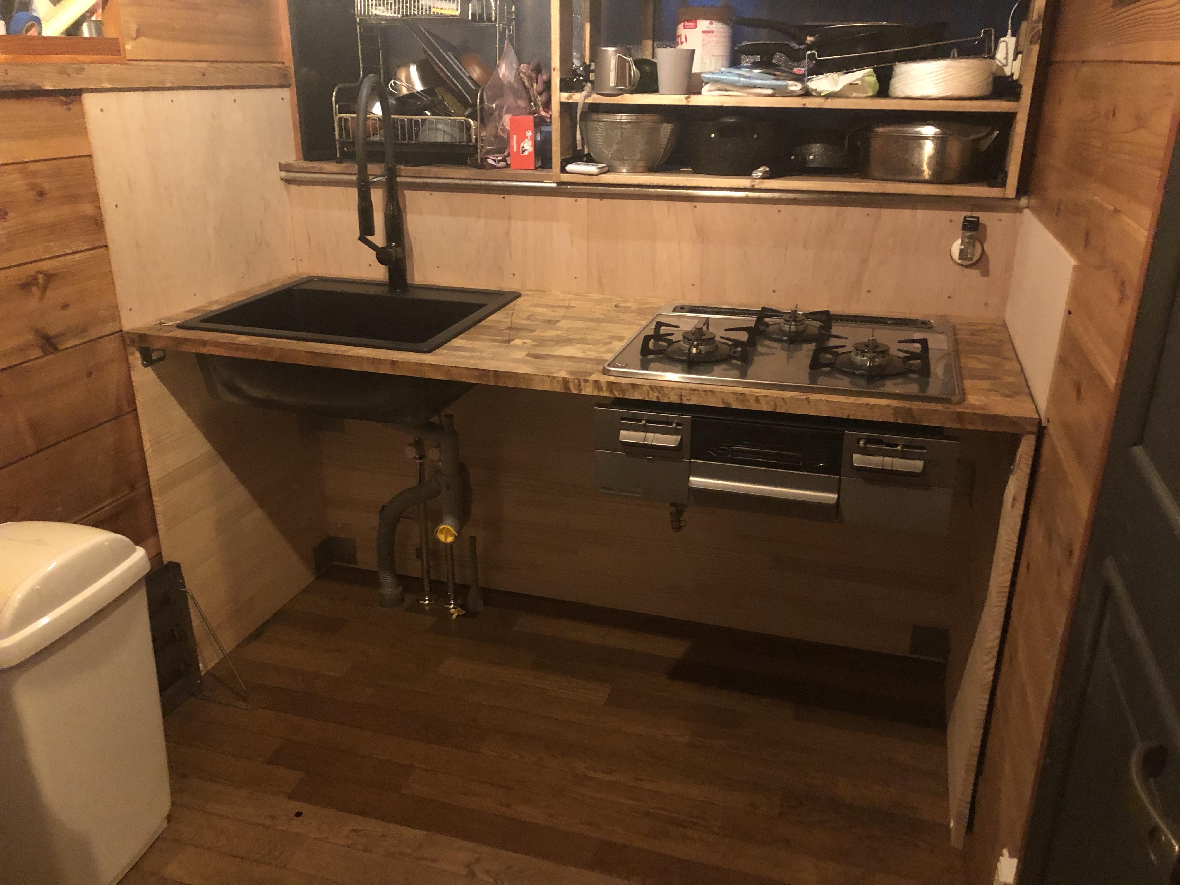 IKEAでキッチンをDIYしてみた